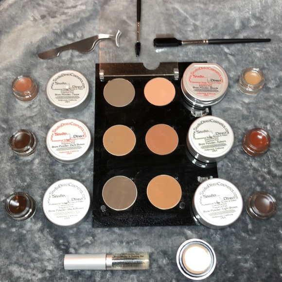 Makeup Professional Eye Kit For Brows And Lashes Bundle Poshmark